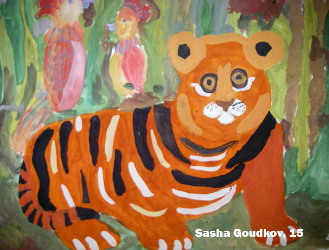 Kids and Animals - Sasha Goudkov at www.interconsul.narod.ru